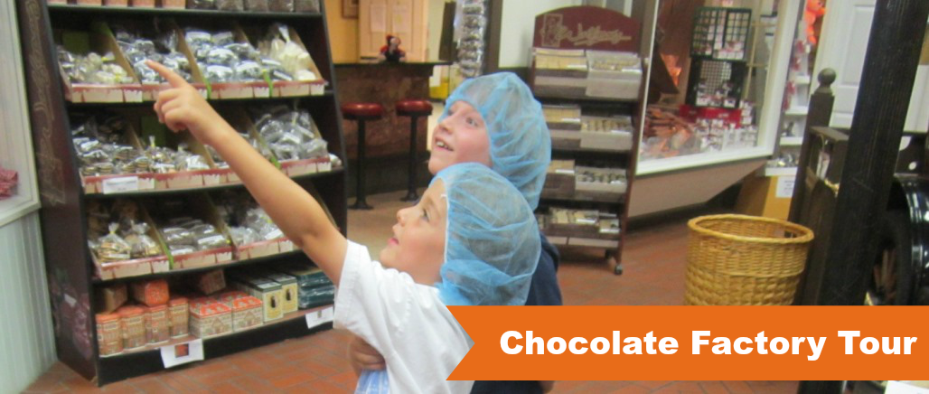 Chocolate Factory Tour with the Field Trip Club